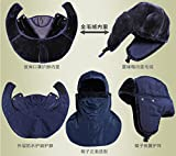 WINDAY Unisex Winter Trooper Trapper Hat Hunting