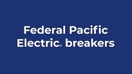 UBIF Thin 30 Amp 1//2 in 1-Pole Federal Pacific Stab-Lok NC130 Replacement Circu