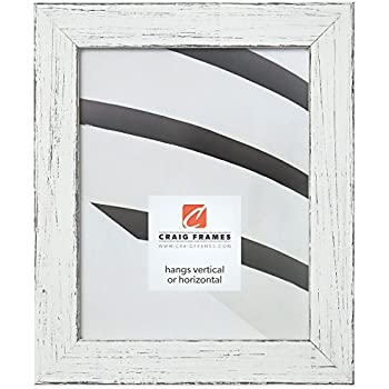 Craig Frames Jasper Picture Frame, 11 x 17 Inch, Country Marshmallow White