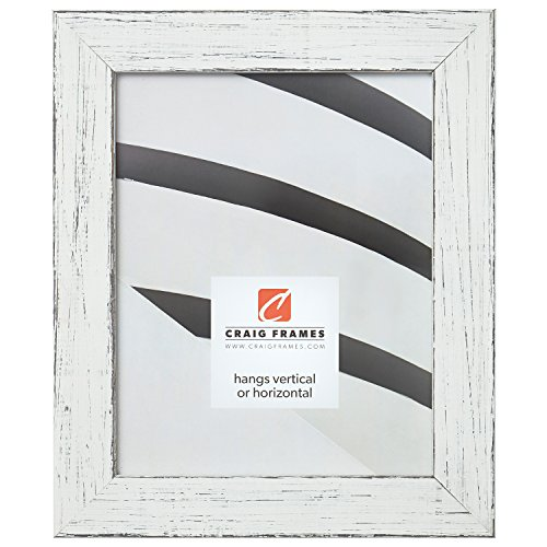Craig Frames Jasper Picture Frame, 18 x 24 Inch, Country Marshmallow White ()