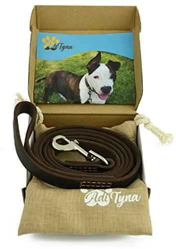 Leather Dog Leash foot Training product image