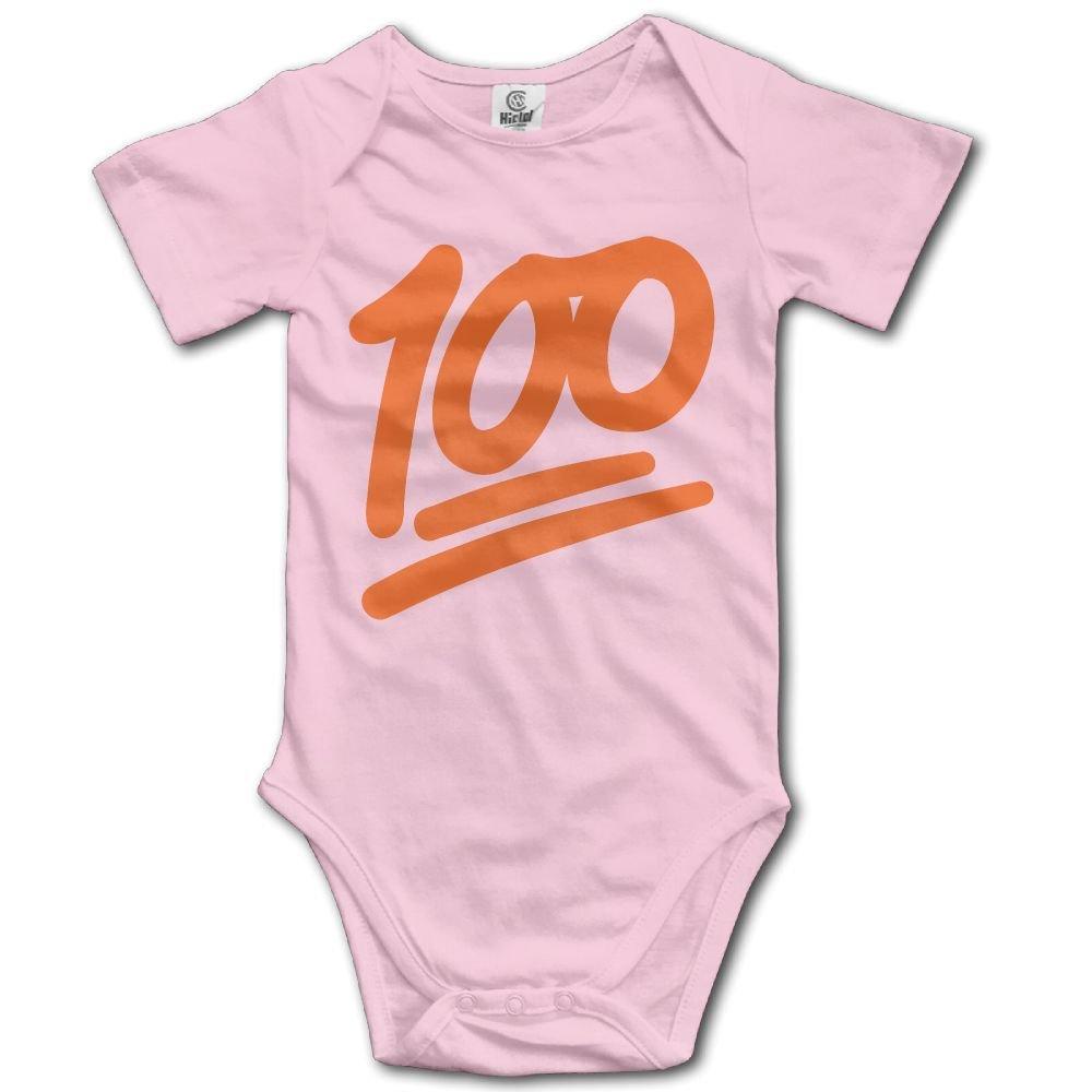 Jaylon Baby Climbing Clothes Romper 100 Orange Numbers Infant Playsuit Bodysuit Creeper Onesies Pink