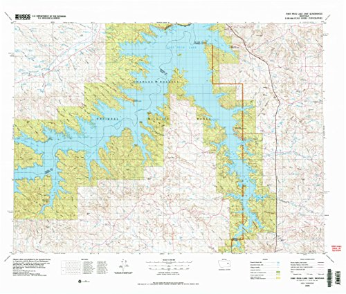 Corner Creek Deer (Fort Peck Lake East MT topo map, 1:100000 scale, 30 X 60 Minute, Historical, 1978, updated 1978, 28.1 x 33 IN - Paper)