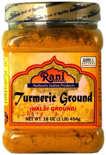 - Rani Natural Turmeric (Haldi) Root Powder Spice, (High Curcumin Content) 16oz (454g) 1lb ~ 100% Pure, Salt Free | Vegan | Gluten Free Ingredients | NON-GMO | Indian Origin