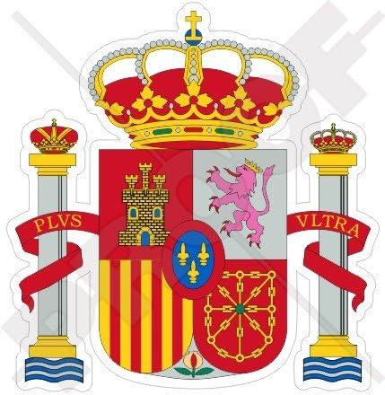 ESPAÑA Español Escudo de Armas Distintivo Cresta 95mm (3.8