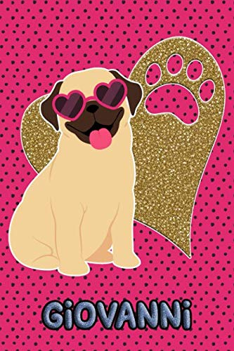 Pug Life Giovanni: College Ruled   Composition Book   Diary   Lined Journal   ()