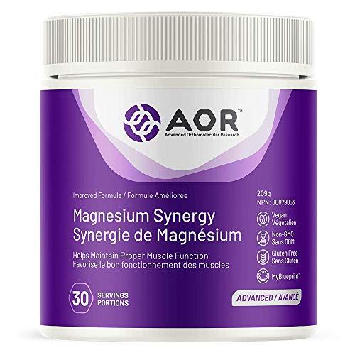 AOR Magnesium Synergy Powder 250 Grams
