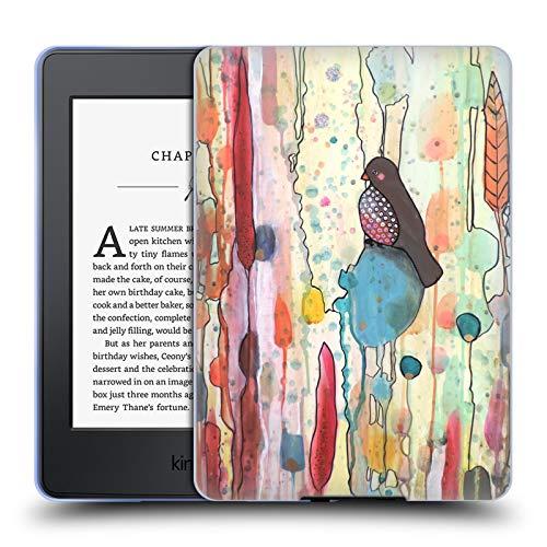 (Official Sylvie Demers Se Laisser Porter Birds 2 Soft Gel Case for Amazon Kindle Paperwhite 3)