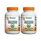 Himalaya Organic Gymnema 60 Caplets for Sugar Destroyer & Healthy Glucose Metabolism 700mg (Pack of 2)