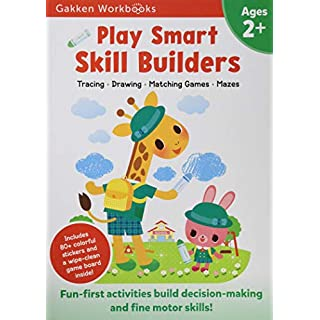 Play Smart Skill Builders Age 2+: At-home Activity Workbook