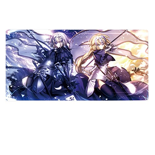 Rain's Pan Anime Fate Grand Order Cosplay Non-slip Rubber Big Gaming Mouse Pad.20×39Inches (04) ()