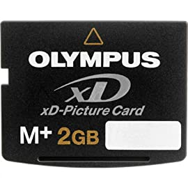 Olympus 202027 2GB M Type Xd Card (Retail Package) 6 XD M 2GB Picture Card.