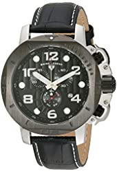 Swiss Legend Men's 10537-01-BB Scubador Analog Display Swiss Quartz Black Watch