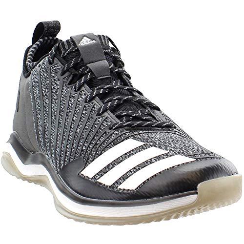 adidas Mens Icon Trainer Cross Training Athletic Shoes, Black, 8