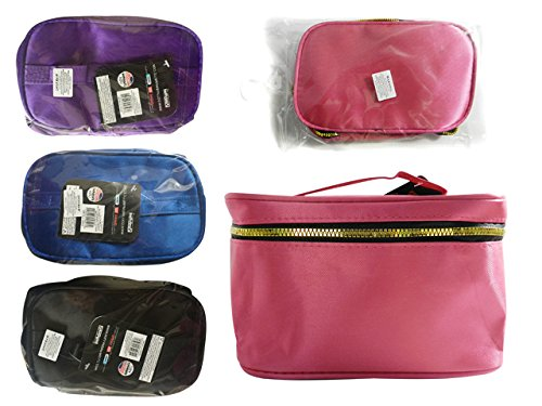 Cosmetic Makeup Bag Size: 8'' x 5'' x 4.3'' , Case of 144