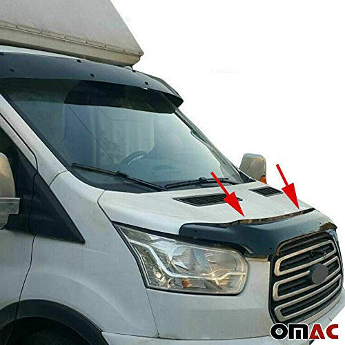 OMAC Motorkap, deflector, insecten en steenslagbescherming