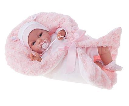 Amazon.com: Antonio Juan - Manta de lana rosa para bebé ...