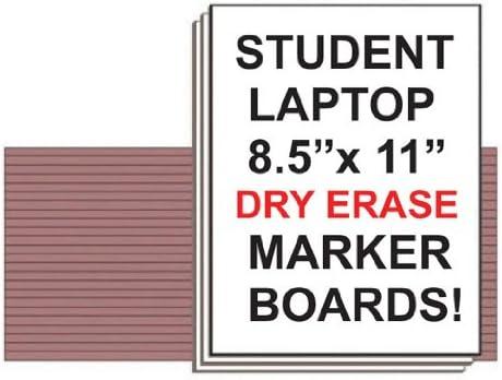 Dry Erase Student Laptop Marker Boards Set of 10 NEOPlex