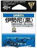 がまかつ(Gamakatsu) 伊勢尼 フック (黒) 13号 釣り針