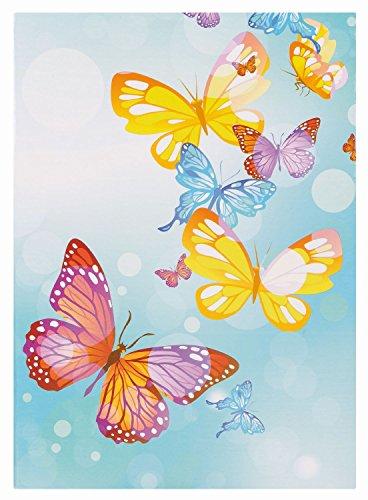 Idena 540596 Einsteckalbum Schmetterlinge, für 200 Fotos im Format 10 x 15 cm