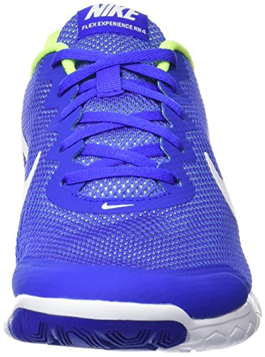 Nike Flex Experience RN 4 Laufschuh Racer Blau / Volt / Weiß