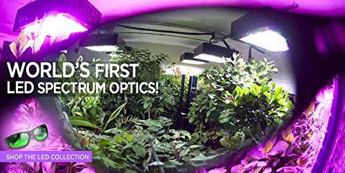 51qOmOmYhOL - California Light Works 880 LED Grow Light 880w UVB with Free Method Seven LED Glasses and Hangers