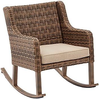 Amazon Com Hawthorne Park Outdoor Rocking Chair Better