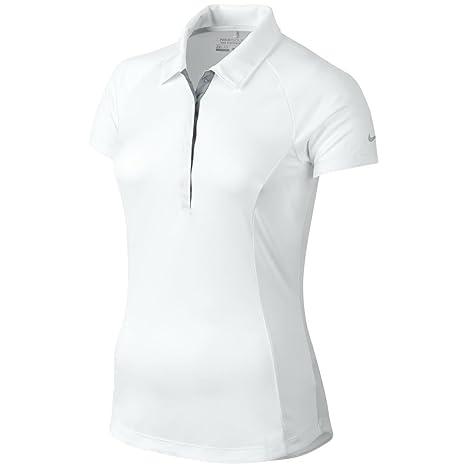 Camiseta de polo de golf para mujer Nike Dri Fit Luxe Raglan ...