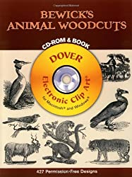 Bewick's Animal Woodcuts (Dover Electronic Clip Art)