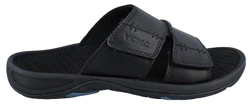 6244df992b8a Vionic Jon Mens Slip-on Orthotic Sandal Black - 8  Amazon.ca  Shoes    Handbags