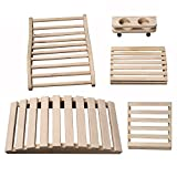 Radiant Saunas SA5024 Deluxe Sauna Accessory Kit, 23.625'' x 11.75'' x 4.33'', Natural