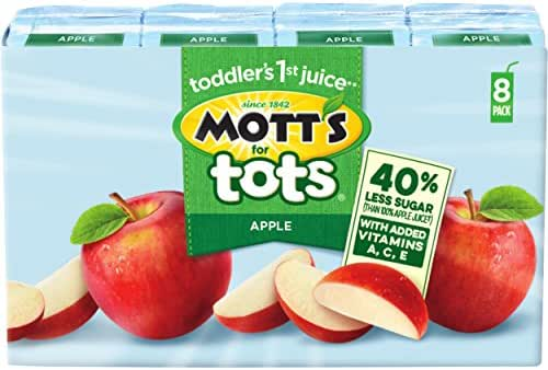 Juice Boxes: Mott's for Tots