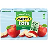Mott's for Tots Apple, 6.75 Fl. Oz boxes, 8 count (Pack of 4)