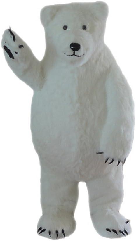 Langteng Blanco Oso Polar, diseño de Mascota Disfraz Personajes de ...