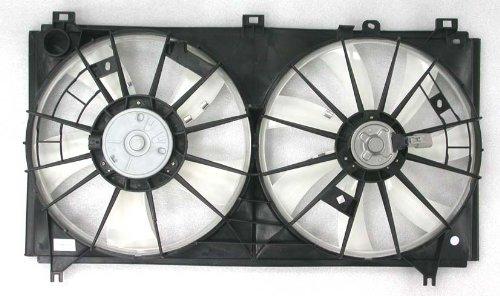 Depo 324-55011-000 Dual Fan Assembly