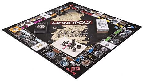 Board Game - Deluxe Game of Thrones Monopoly by Winning Moves: Amazon.es: Juguetes y juegos
