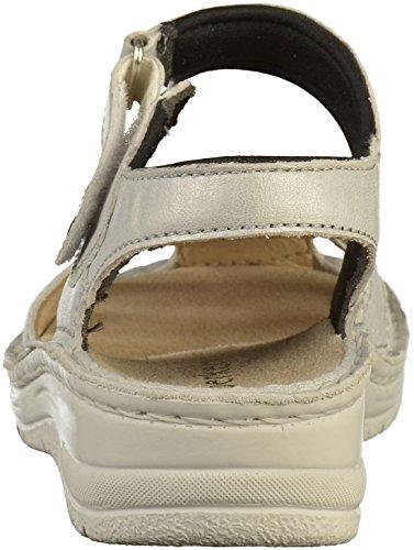 Berkemann 03104 Womens Sandals Silver b7Wkgt
