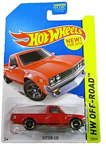 HOT WHEELS OFF ROAD, RED DATSUN 620 139/250