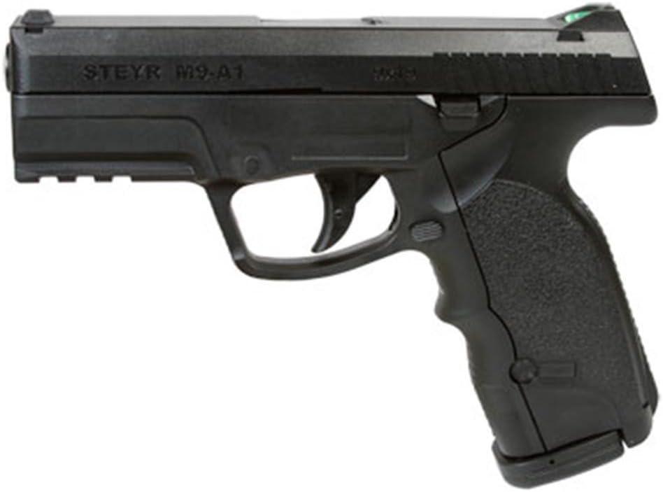 Asg Pistola semiautomatica perdigón Steyr M9-A1 Negra. Calibre 4,5mm. 3,3 Julios. Co2. Modelo ASG16088