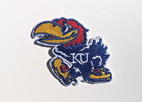 Kansas Jayhawks Embroidered Iron on Patch