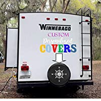 Custom RV Tire Cover- Create a Custom Spare Tire Cover- Personalized Tire Cover- makes an awesome present!