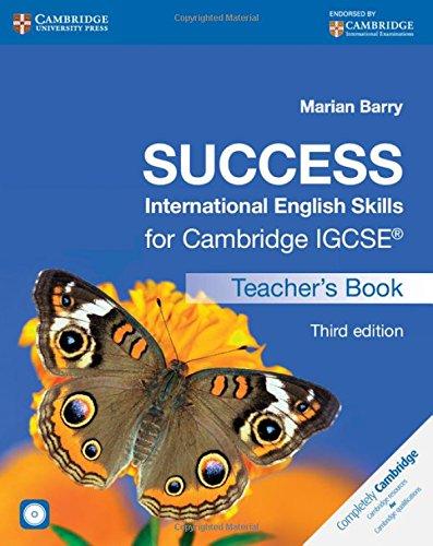 Success International English Skills for Cambridge IGCSE® Teacher's Book with Audio CD (Cambridge International IGCSE)