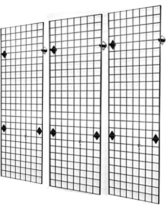 Amazon.com: Commercial Grade 2\' x 6\' Grid Panel Wall Three Pack ...
