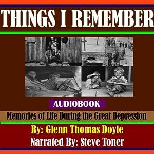 Things I Remember Audiobook