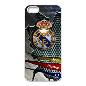 DASHUJUA Real Madrid CF Cell Phone Case for Iphone 5s