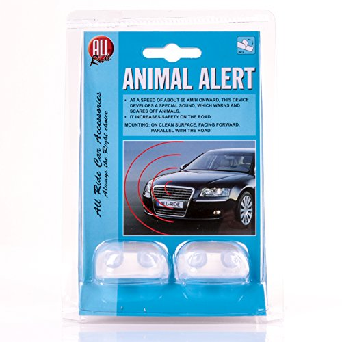 2x Stick On Animal Alert Sensors:
