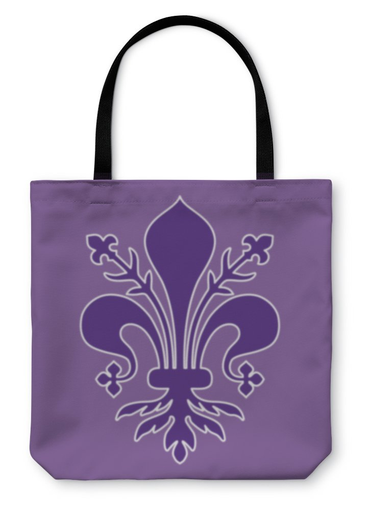 Gear New Shoulder Tote Hand Bag, Coat Of Arms Of Florence Tuscany, 18x18, 5585800GN