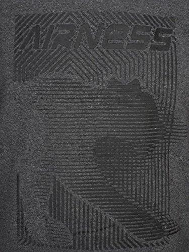 Heliott S Taille anthracite Airness Noir Xxl Noir Sweat tRq7n6dx