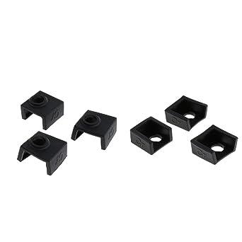 Calcetín de silicona para impresora 3D, cubierta de silicona para ...