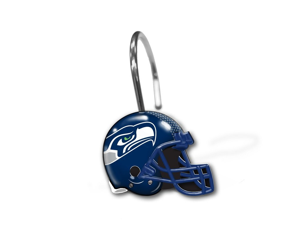 The Northwest Company Seattle Seahawks Shower Curtain Rings
